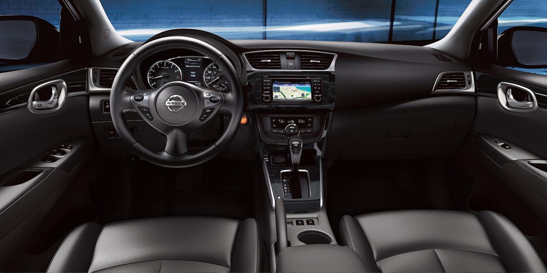 Interior of the 2018 Nissan Sentra