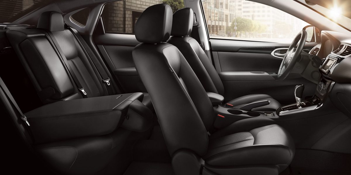 Cozy Seating in the 2018 Sentra