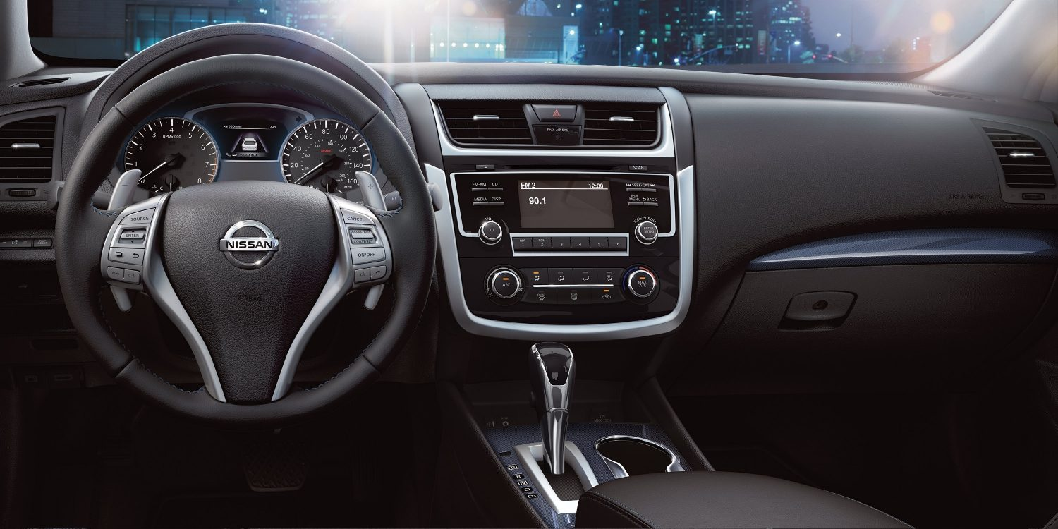 Interior of the 2018 Altima