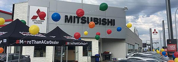 Southside Mitsubishi racecar