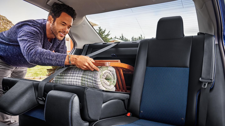 Rear Seating in the Corolla