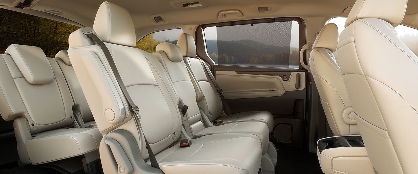 Spacious Cabin of the 2019 Honda Odyssey