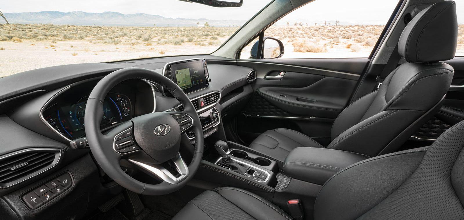 2019 Hyundai Santa Fe Center Console