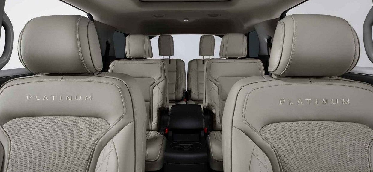 Seating in the Explorer