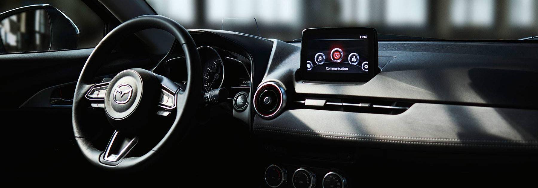 Tech-Loaded Interior of the 2019 Mazda CX-3