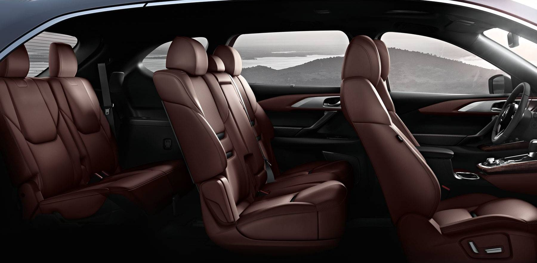Room For All in the 2018 Mazda CX-9!