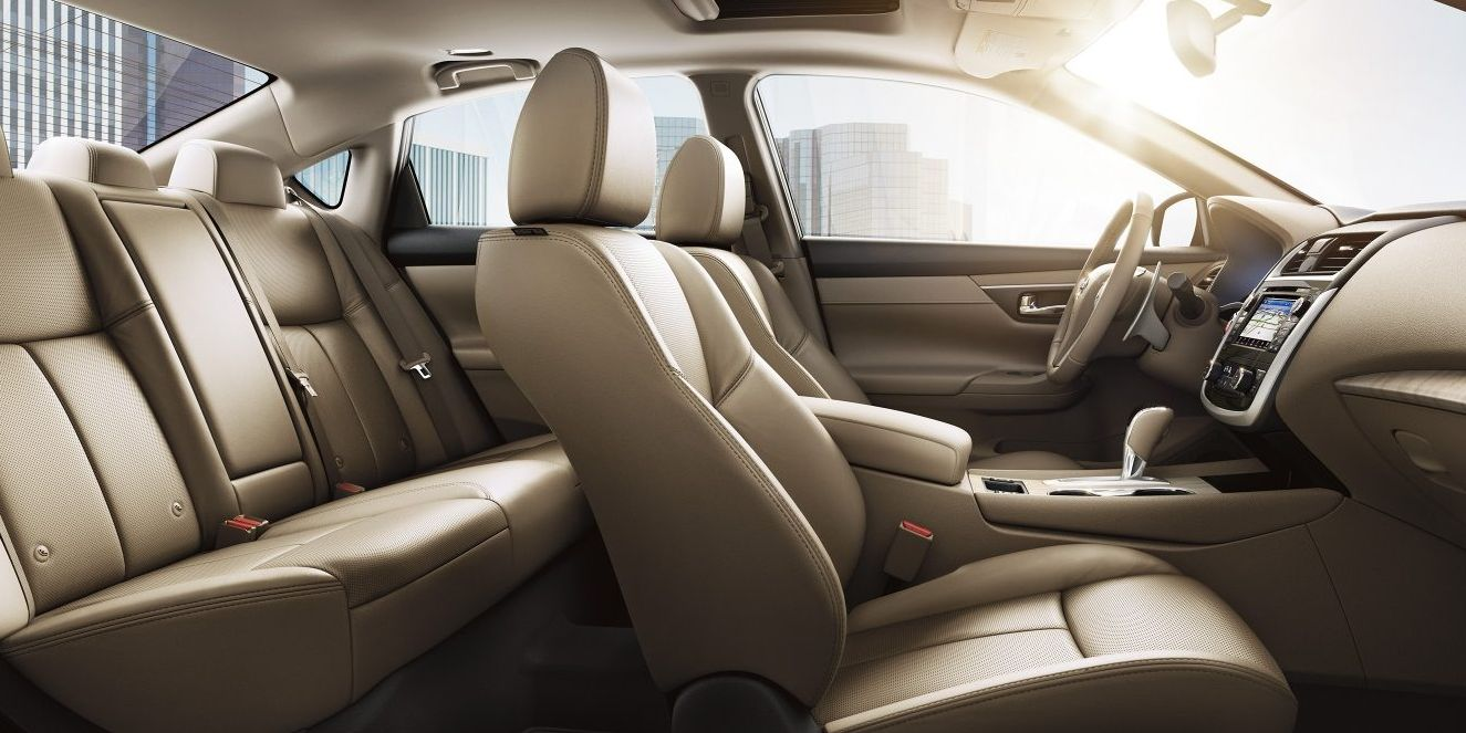 Seating in the Altima