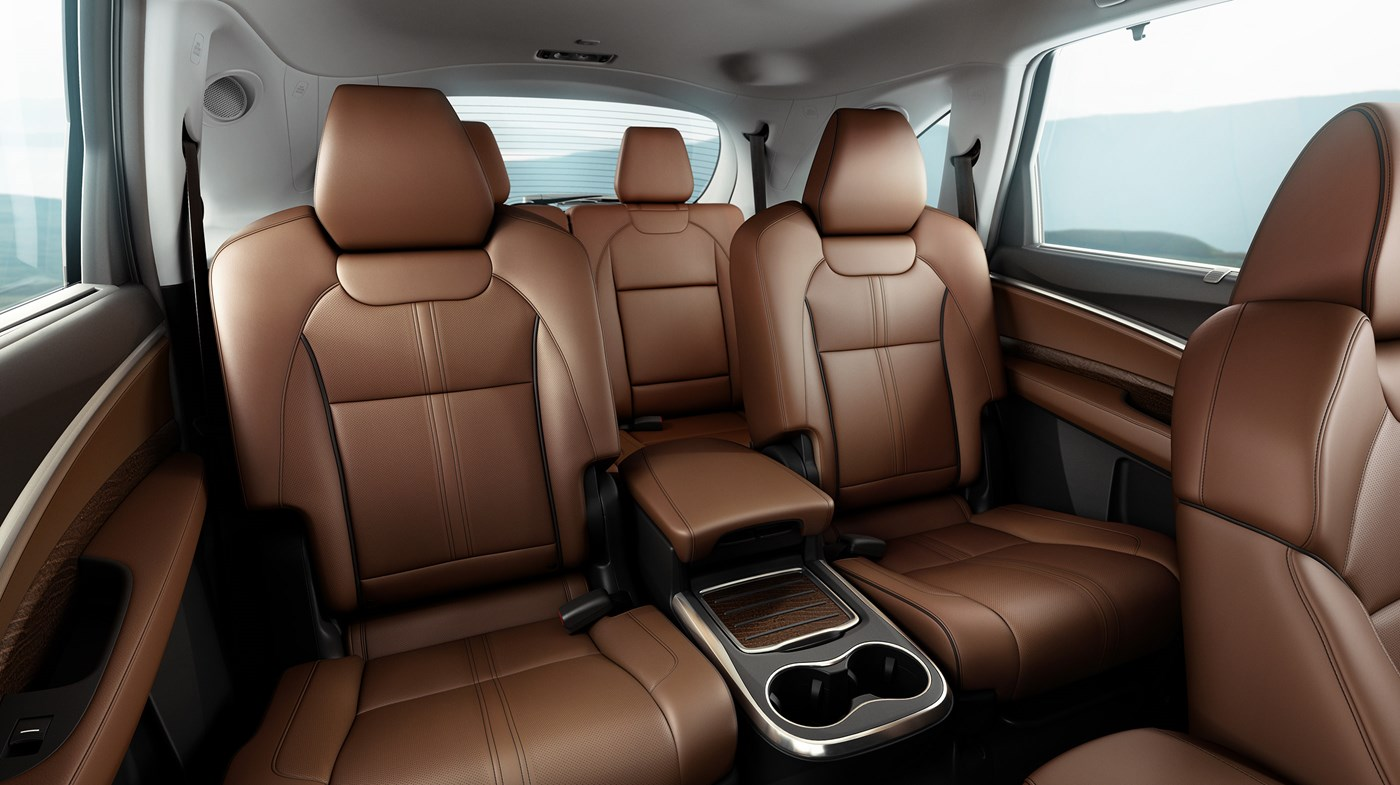 Luxurious Three-row Seating in the MDX