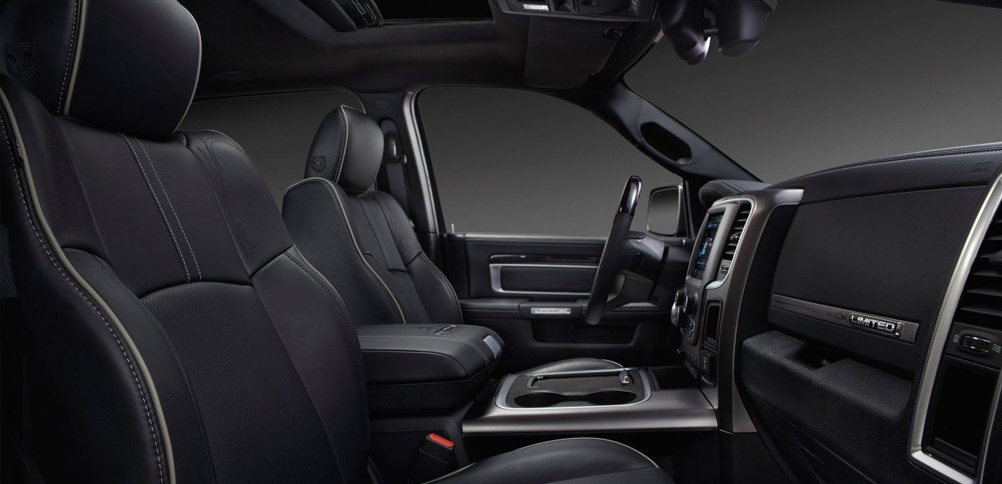 Accommodating Interior of the 2018 Ram 2500