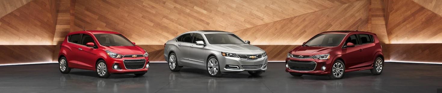 Elige tu vehículo Chevrolet favorito