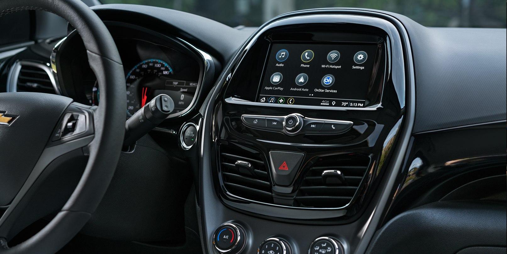 2019 Chevrolet Spark Center Console
