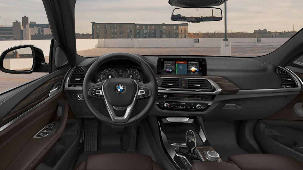 Interior of the 2019 X3