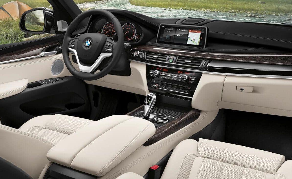 Interior of the BMW X5
