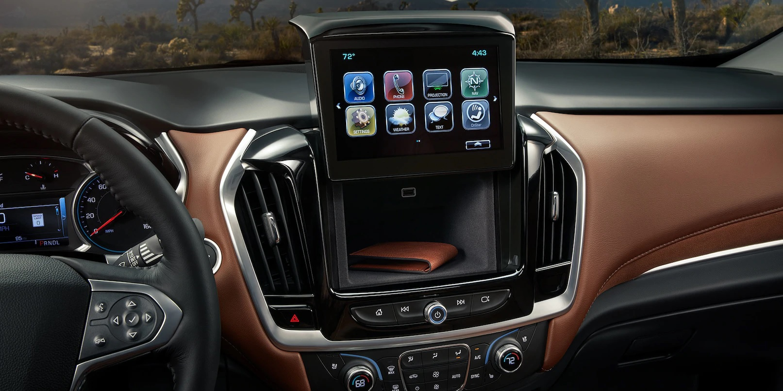 Easily Access Your Media and More in the Traverse!