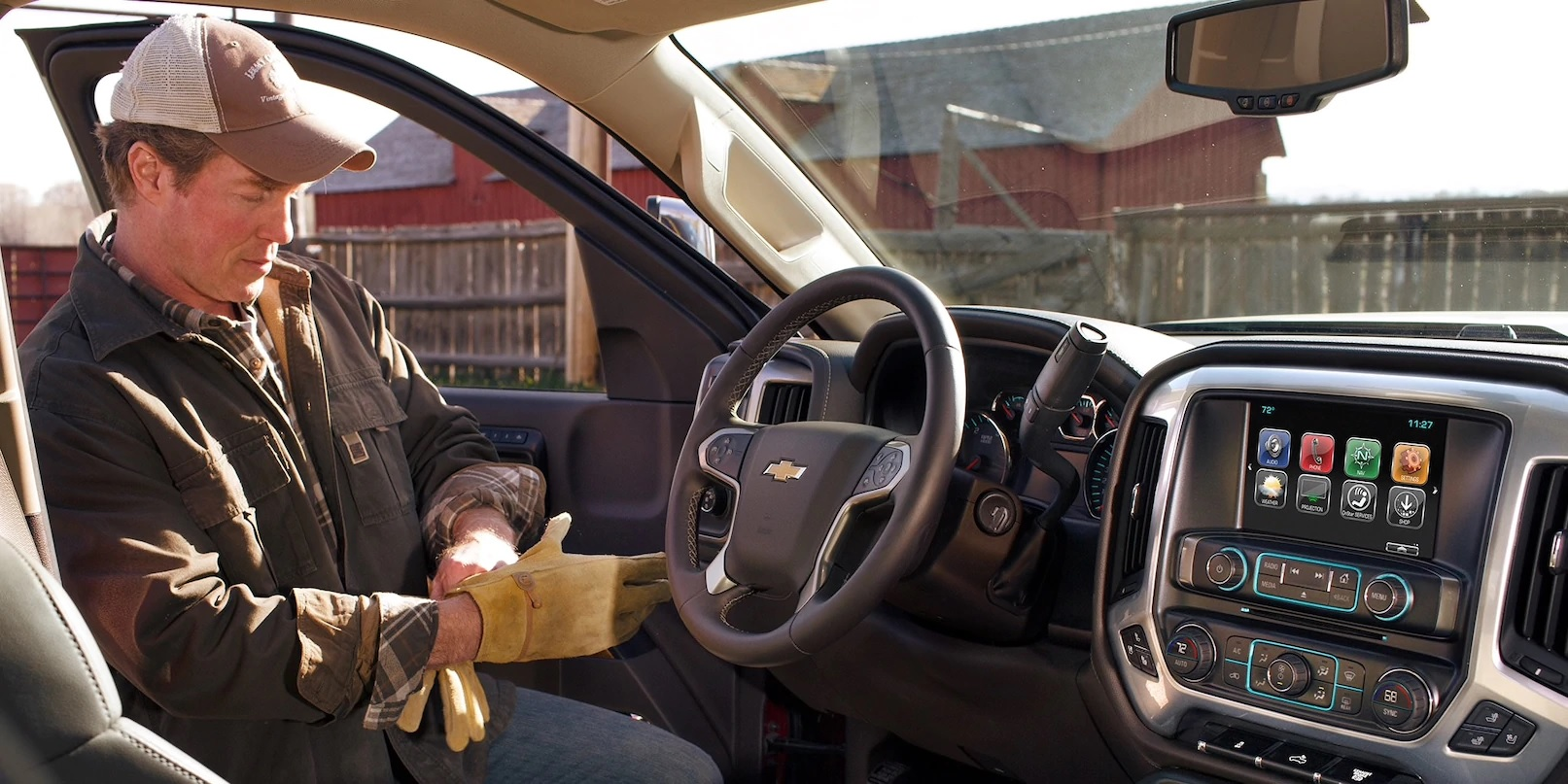 There's Plenty of Technology in the Silverado 2500HD!