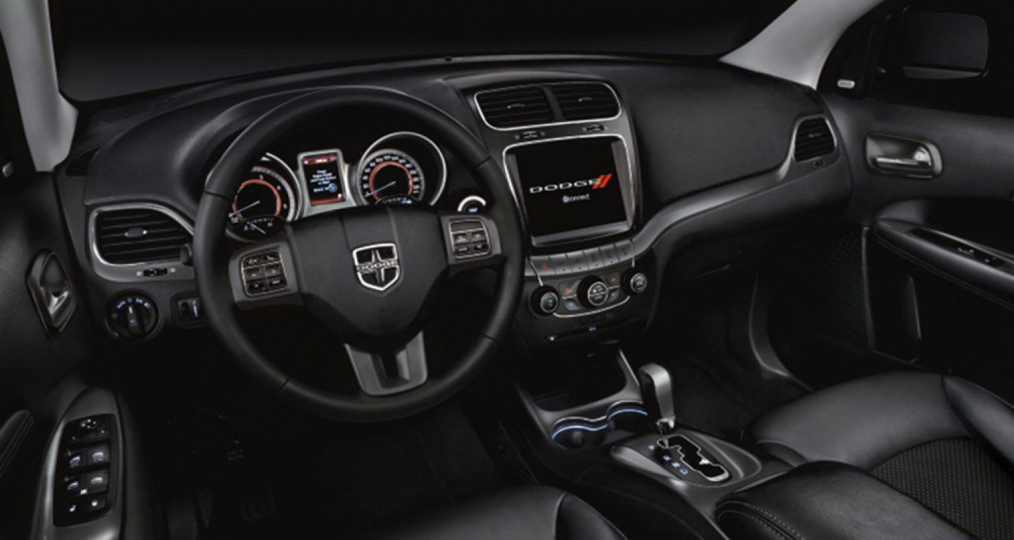 Interior of the 2018 Dodge Journey