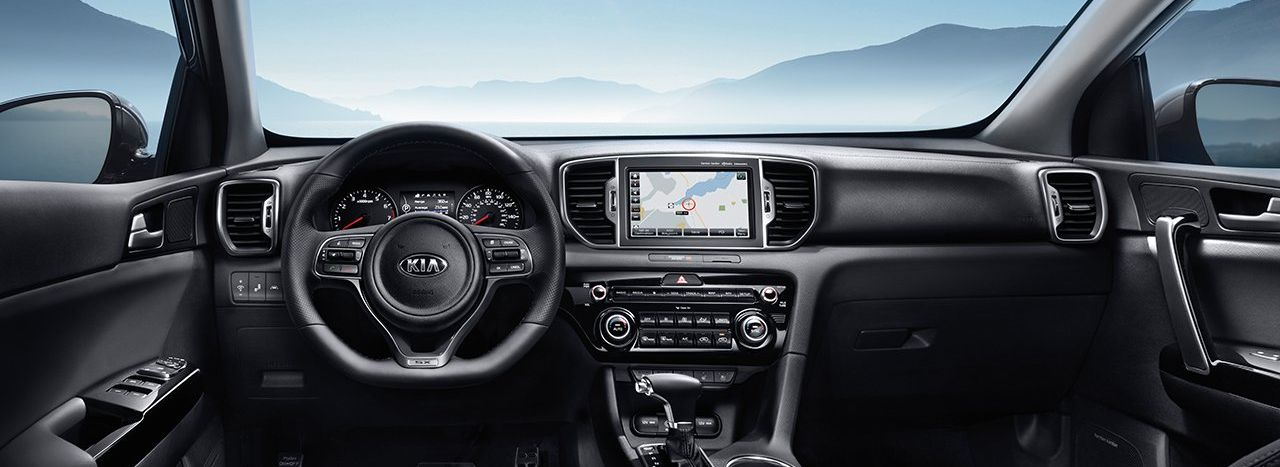 2019 Kia Sportage Front Seats and Console
