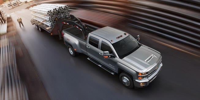 La Chevrolet Silverado 2500HD 2019 está lista para trabajos difíciles