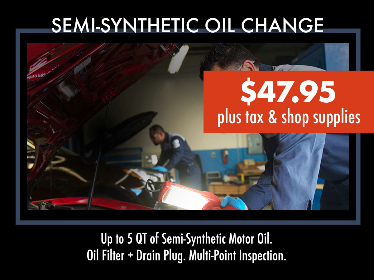 Acura Semi-Synthetic Oil Change Chicago