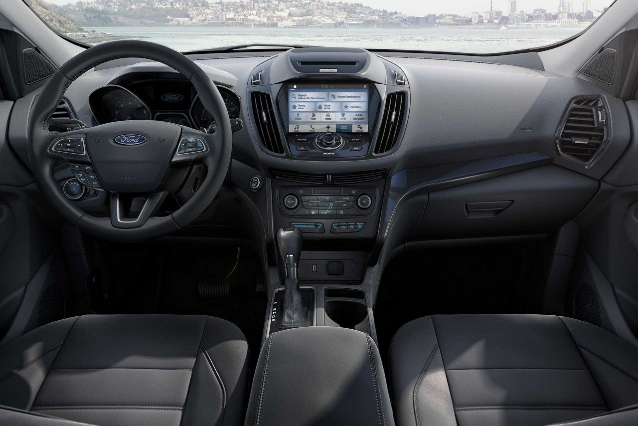 Interior of the 2018 Ford Escape