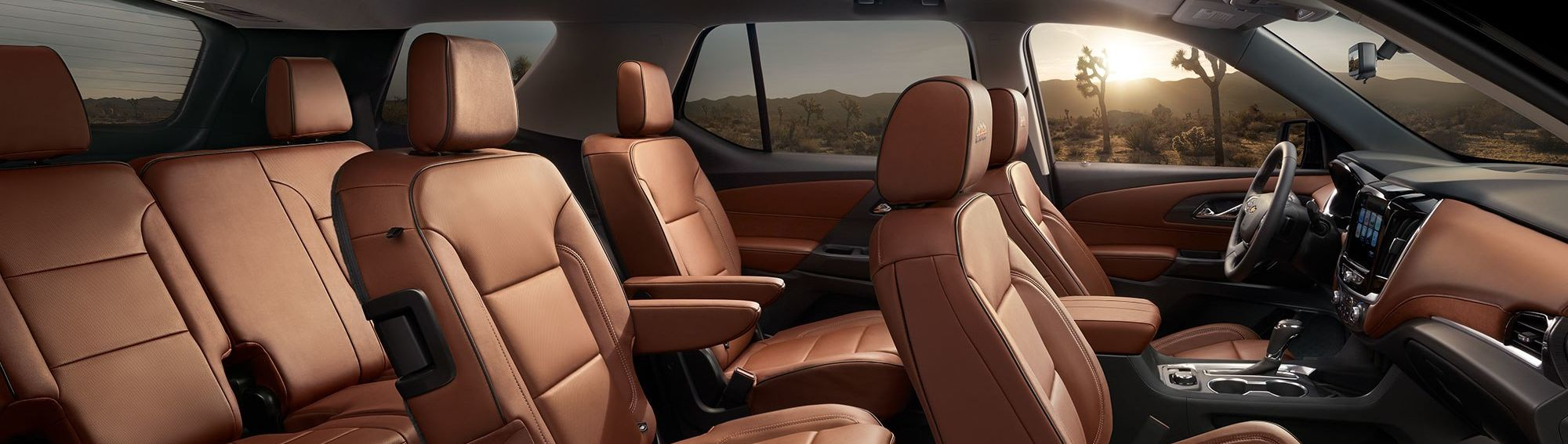 2019 Traverse Spacious Interior Seating