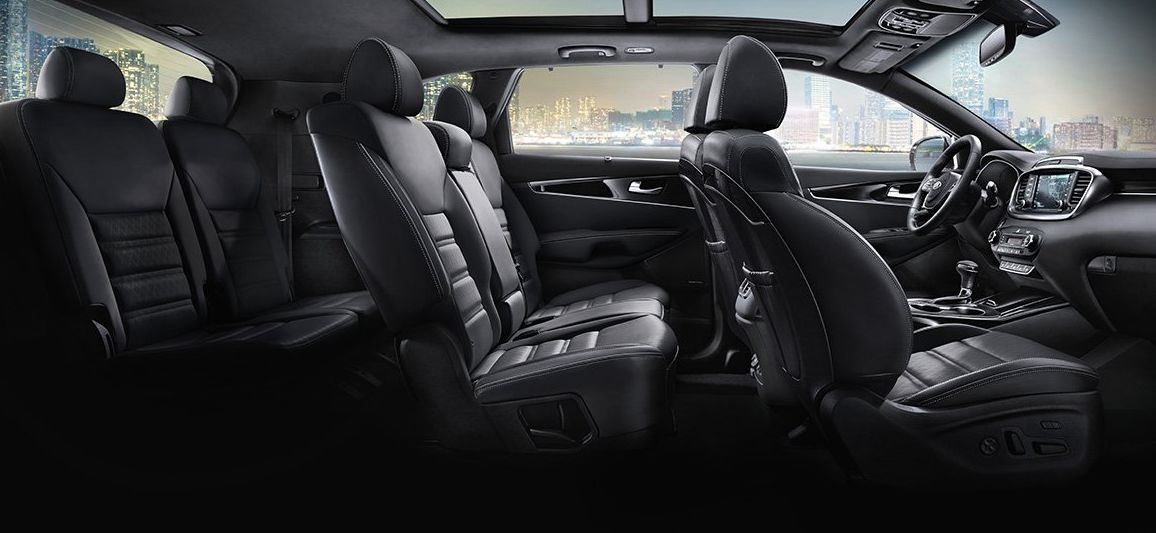 Seating in the Sorento
