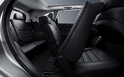Spacious Seating in the 2019 Kia Sorento