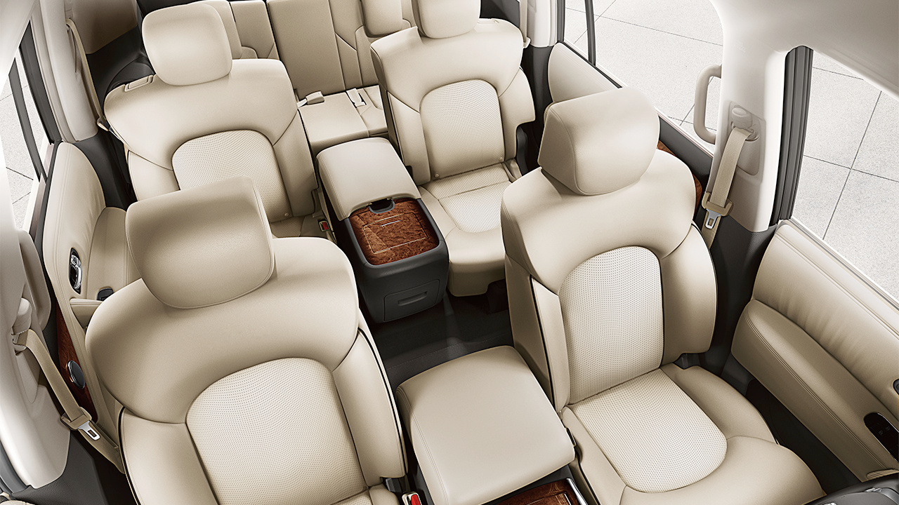 Spacious and Safe Cabin of the Nissan Armada
