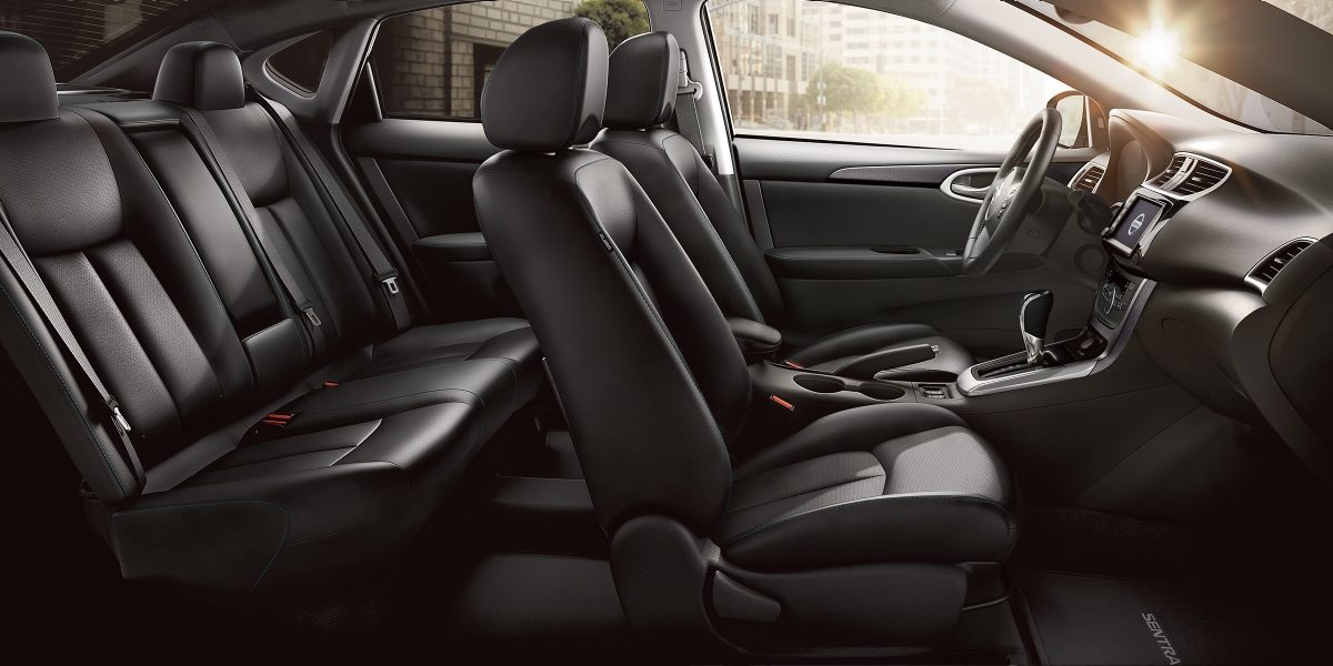 Luxurious Cabin of the 2019 Nissan Sentra