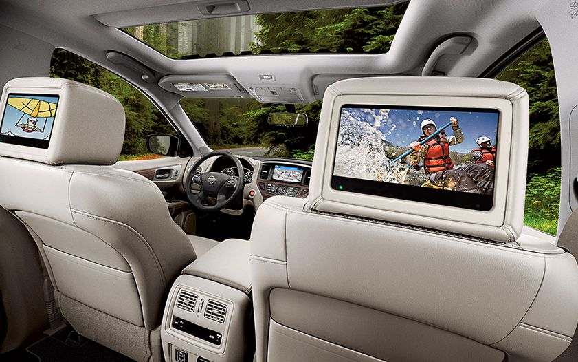 Stay Entertained During Those Long Trips in the Pathfinder!