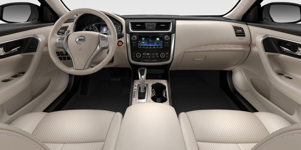 Interior of the 2018 Nissan Altima