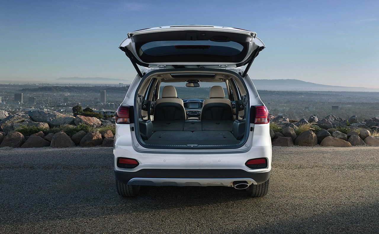 You'll Find Plenty of Space in the Sorento for All Your Items!