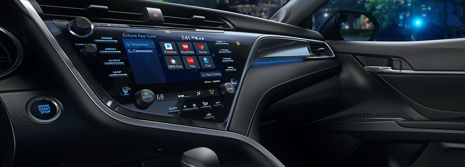 Technology Inside the 2019 Camry