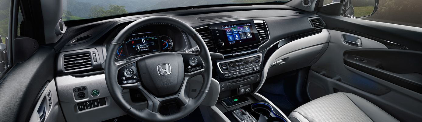 2019 Honda Pilot Cockpit
