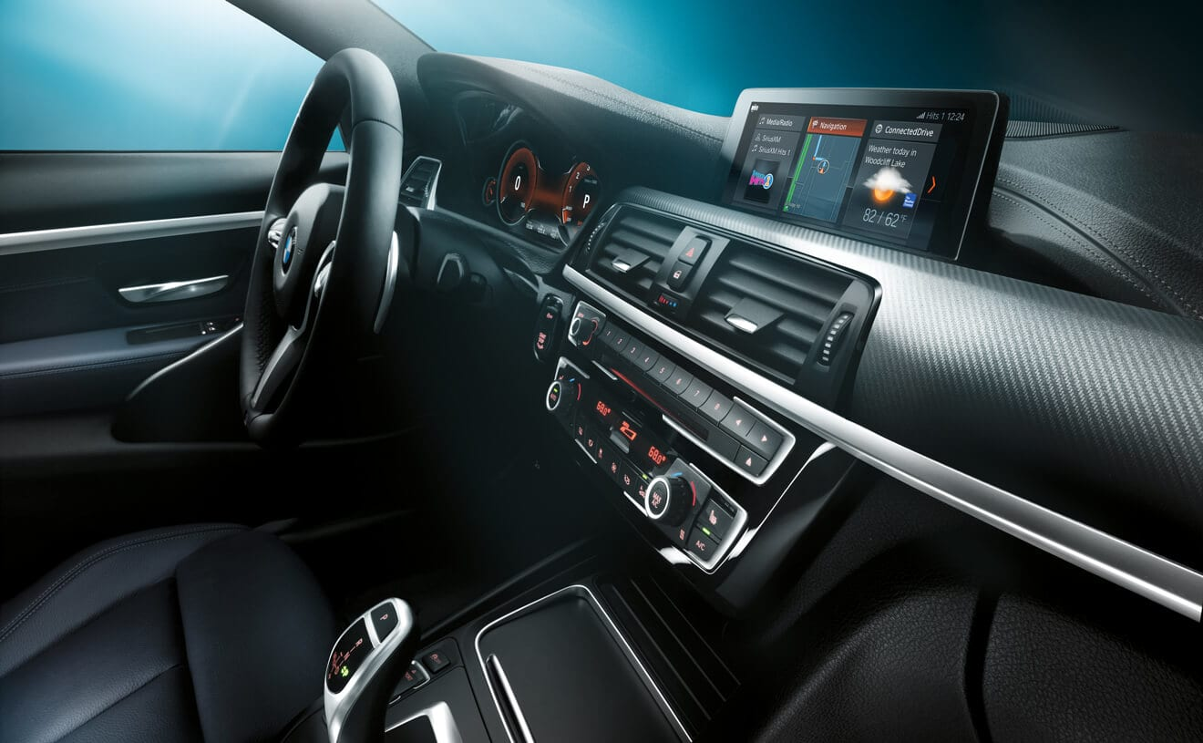 Interior of the 2019 BMW 4 Series
