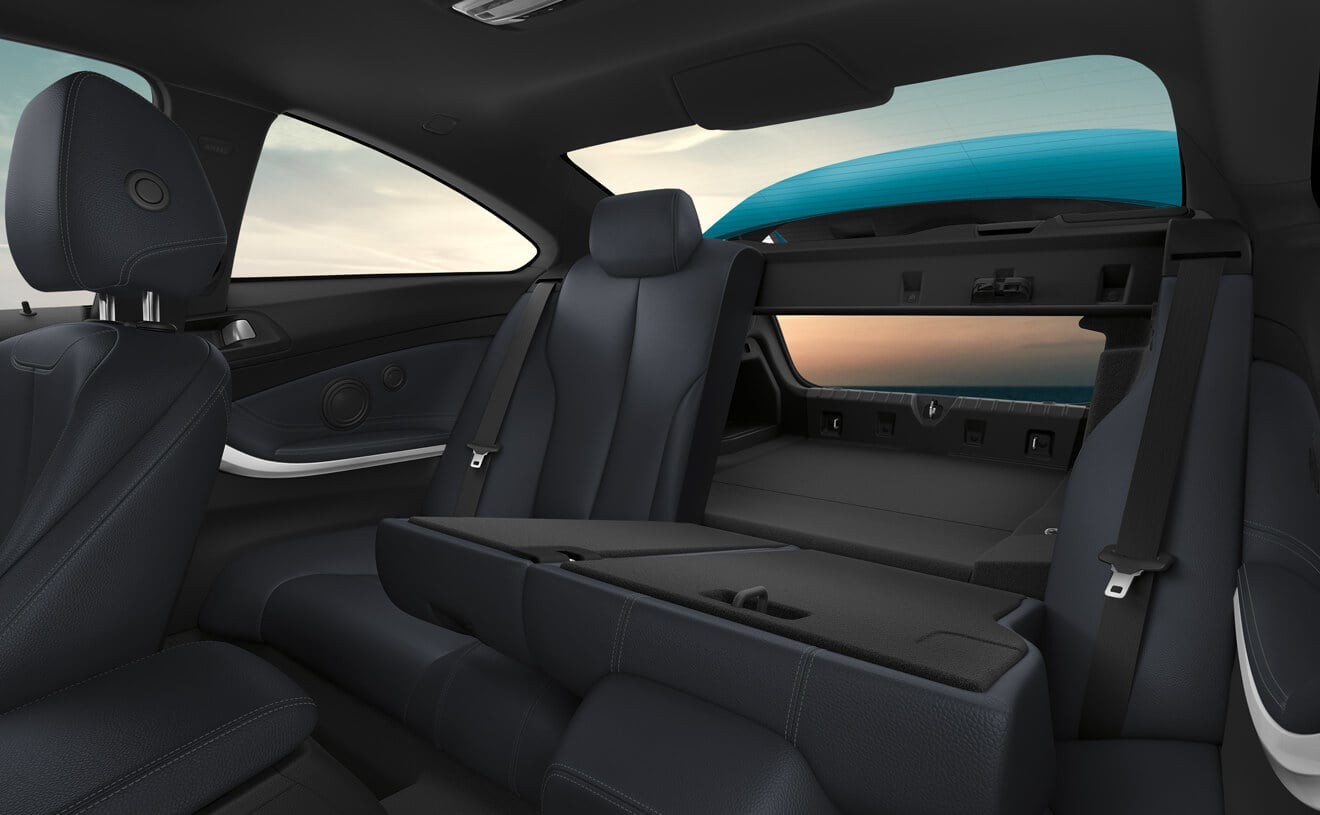 You'll Find Plenty of Space in the 4 Series for All Your Items!