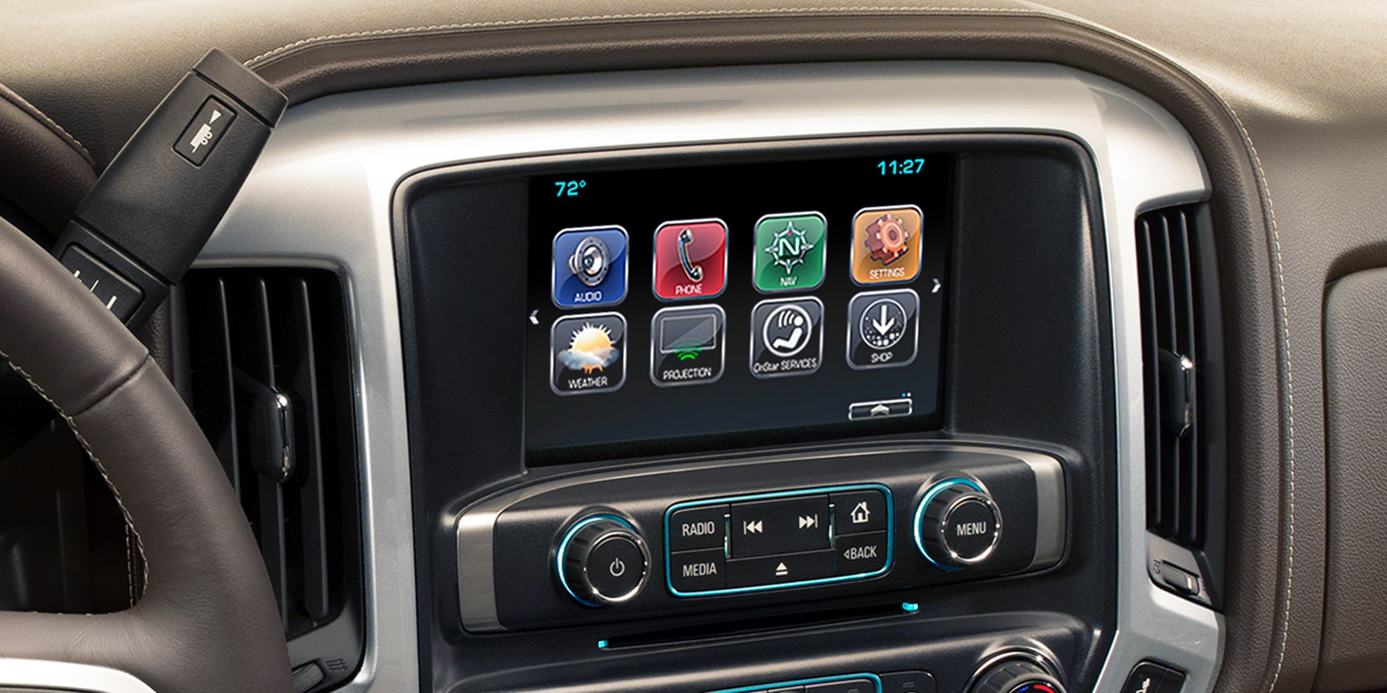 2018 Chevrolet Silverado 1500 Infotainment Center
