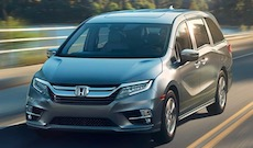2019 Honda Odyssey near Houston