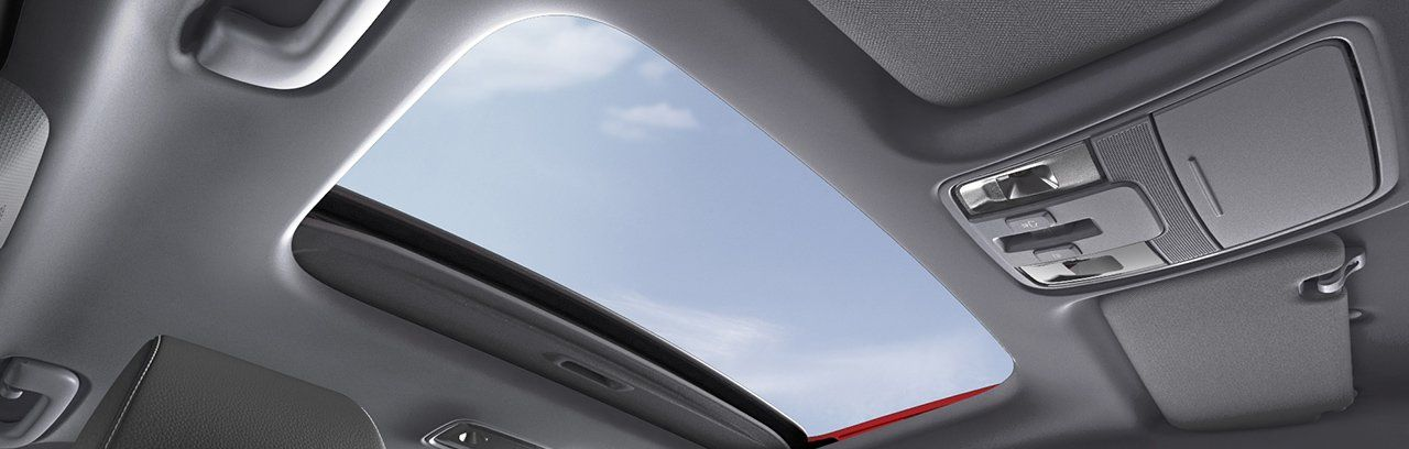 Enjoy Nature with the Beautiful Sunroof!