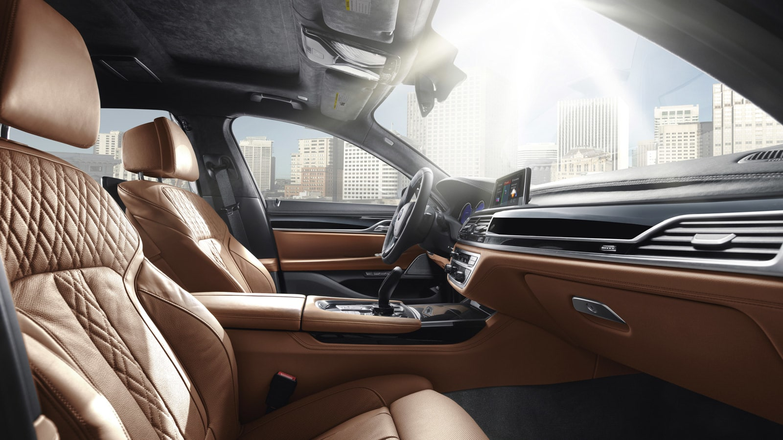 Interior of the 2019 BMW 7 Series