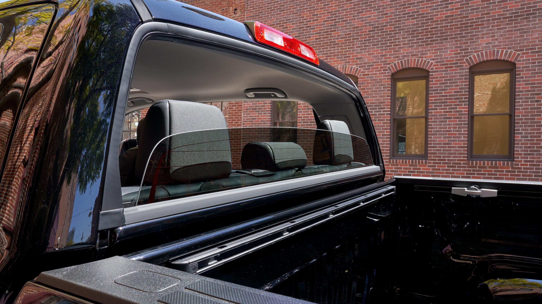 Tundra Platinum CrewMax Standard Power Vertical Sliding Rear Window