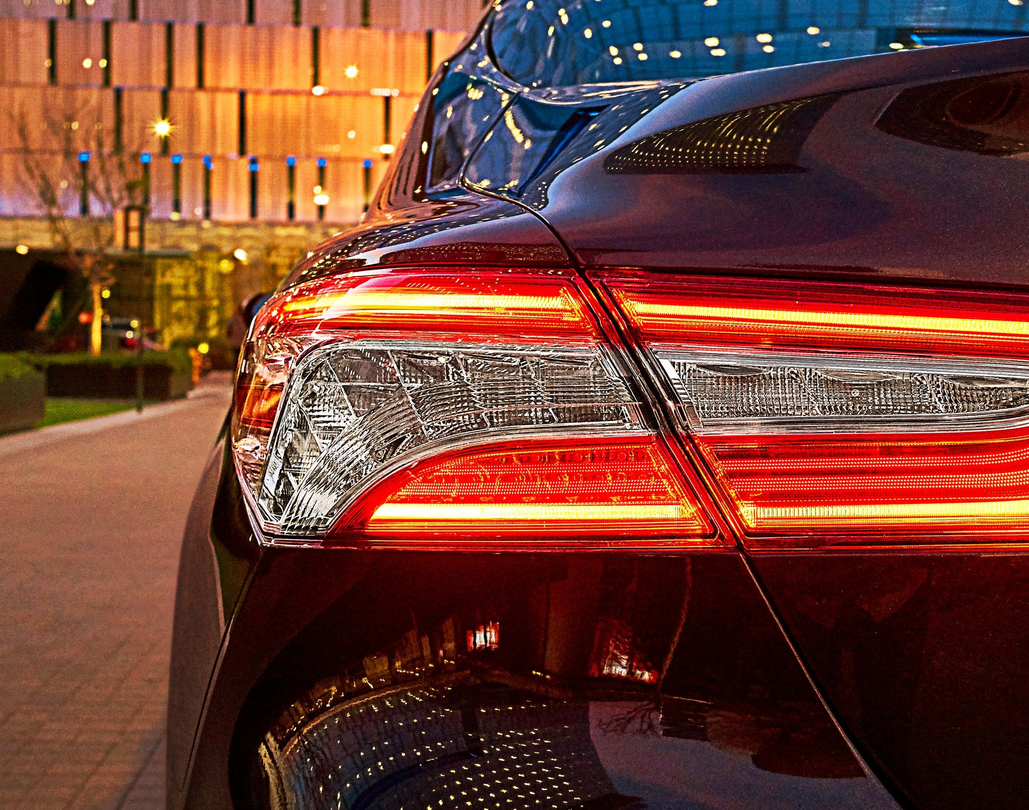 One of Camry's Taillights
