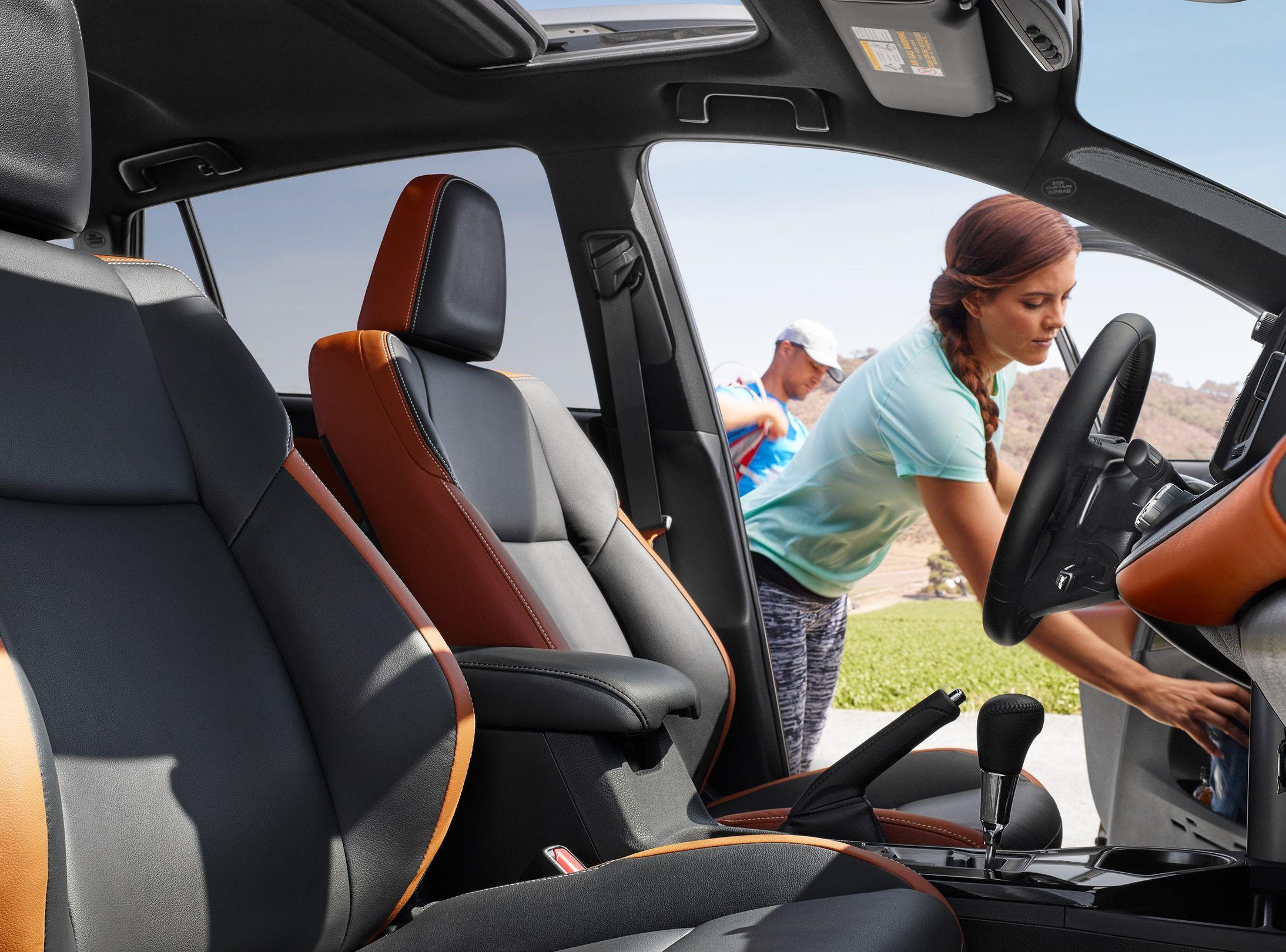 2018 RAV4 Hybrid Seating
