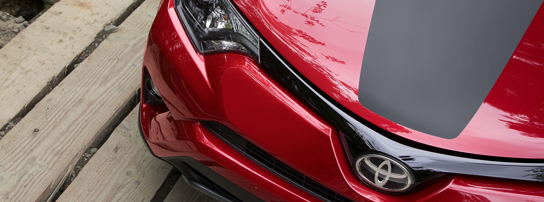 The RAV4 Hybrid's Eye-Catching Front Bumper