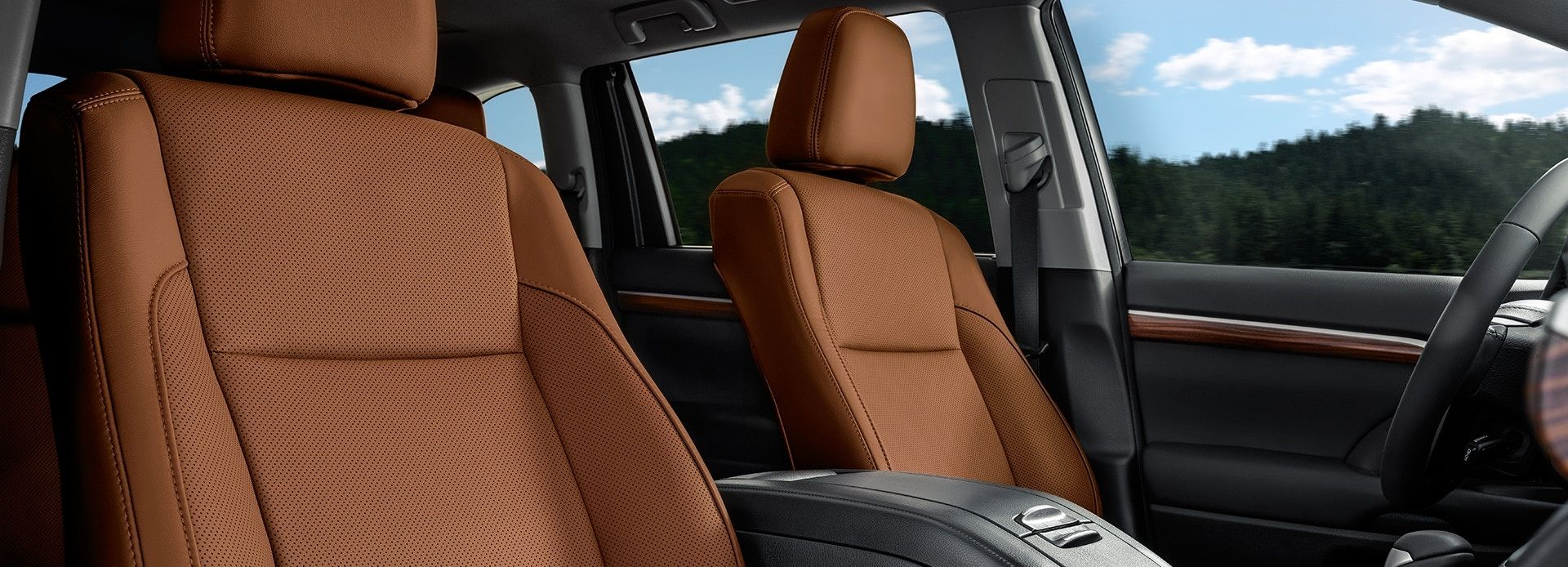 Luxurious Seating in the Highlander