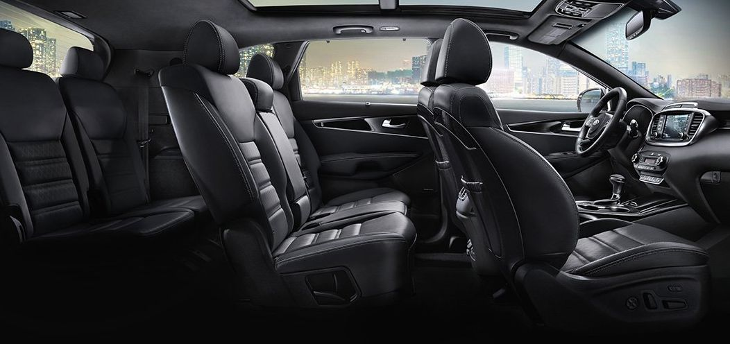 Ample Seating in the Sorento
