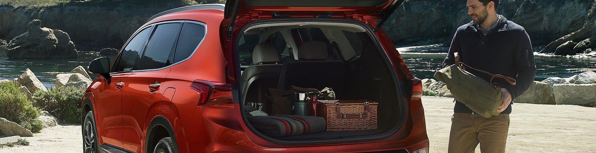 2019 Hyundai Santa Fe Cargo Space