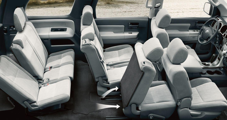 Versatile Seating in the Toyota Sequoia