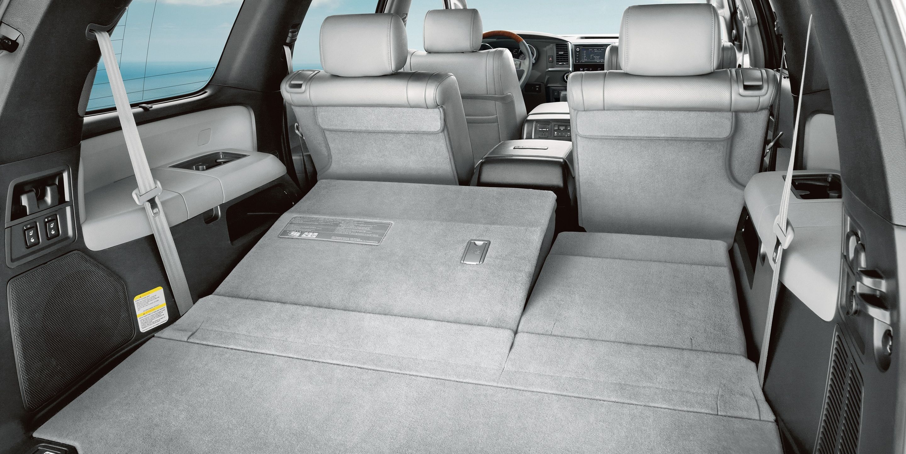 Ample Capacity of the Toyota Sequoia