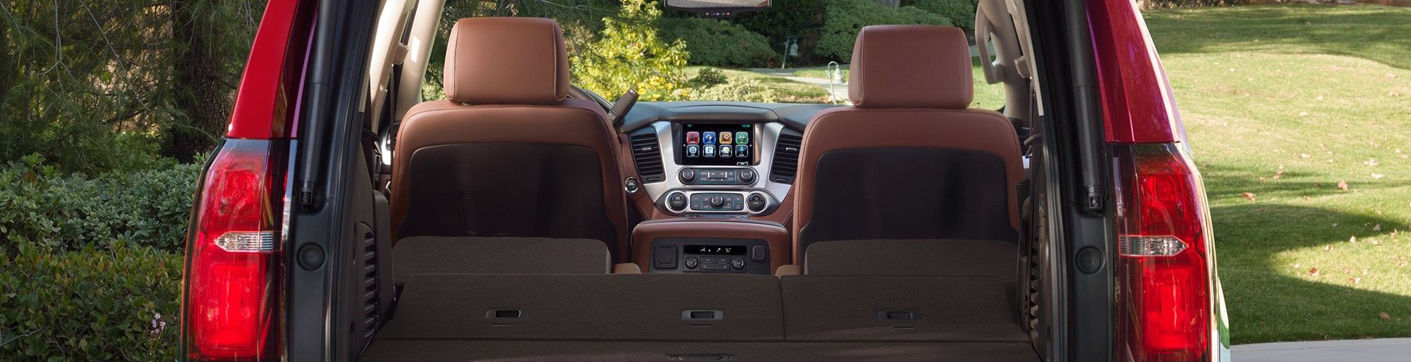 2019 Tahoe Trunk Space